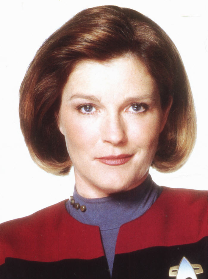 CAPTAIN JANEWAY VISITS WAREHOUSE 13 KATE MULGREW | The Time Warriors